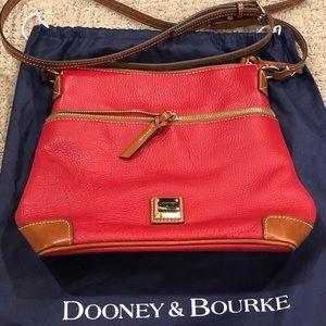 Dooney & Bourke Pebble Grain Crossbody Purse (Red)